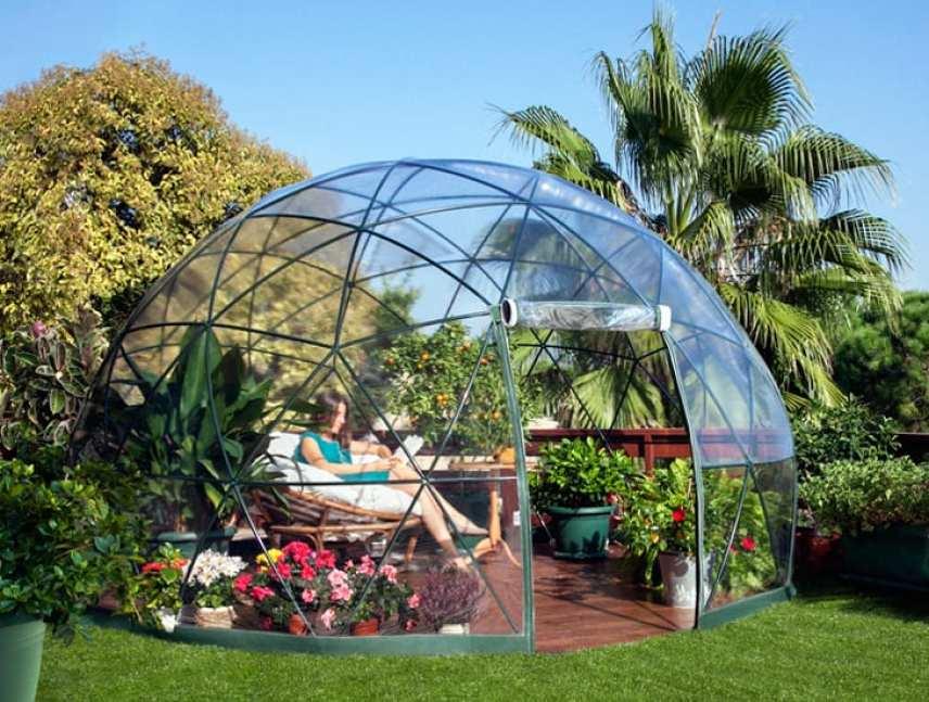Garden dome igloo