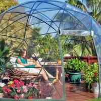 This garden dome igloo is officially the hottest backyard accessory on Amazon