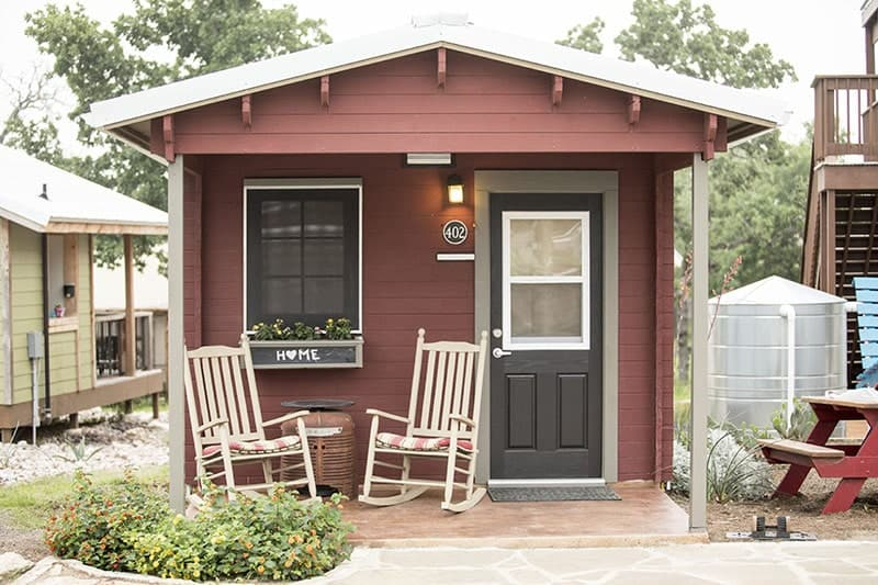 A tiny home in Community First