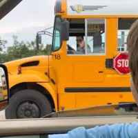 Mom shares what school bus driver did when her son gets on the wrong bus