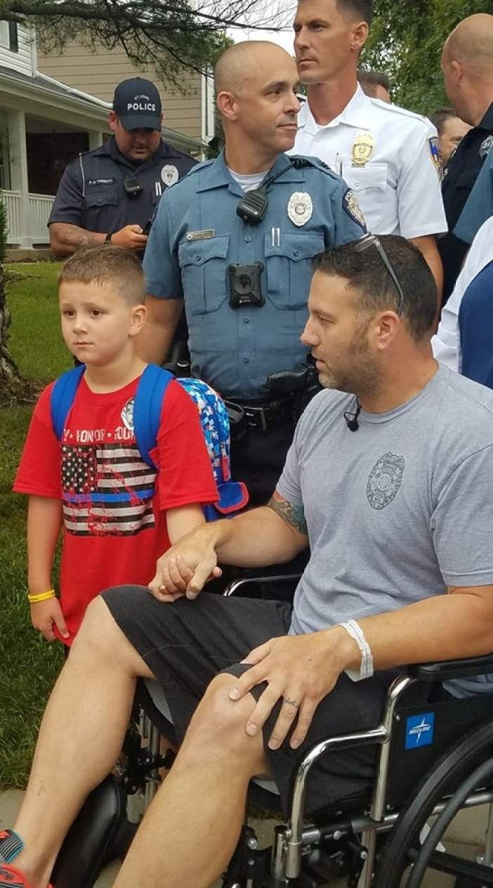 cop battling cancer