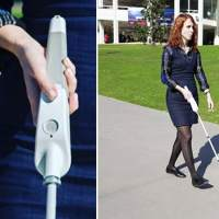 Blind engineer invents a SMART cane that guides the vision impaired using Google maps and sensors
