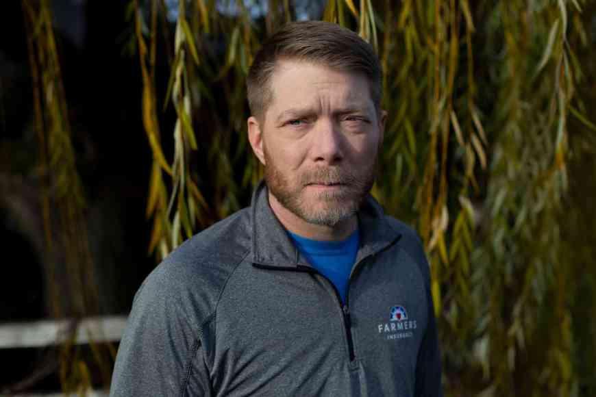 Vince Villano, the veteran with polycystic kidney disease