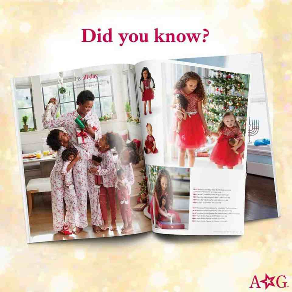 American girl catalog goes viral.