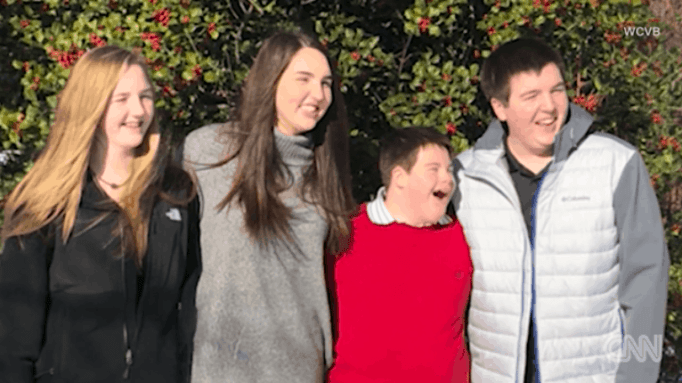 Special education teacher gives student a new family and home.