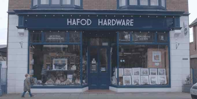 A Christmas commercial by Hafod Hardware.