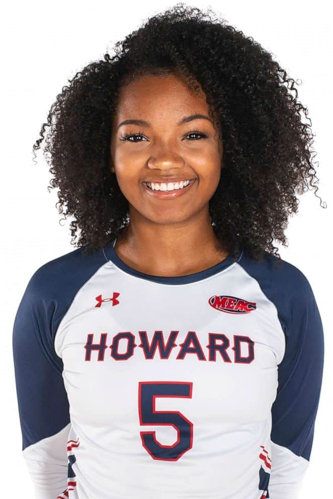 Howard University player.