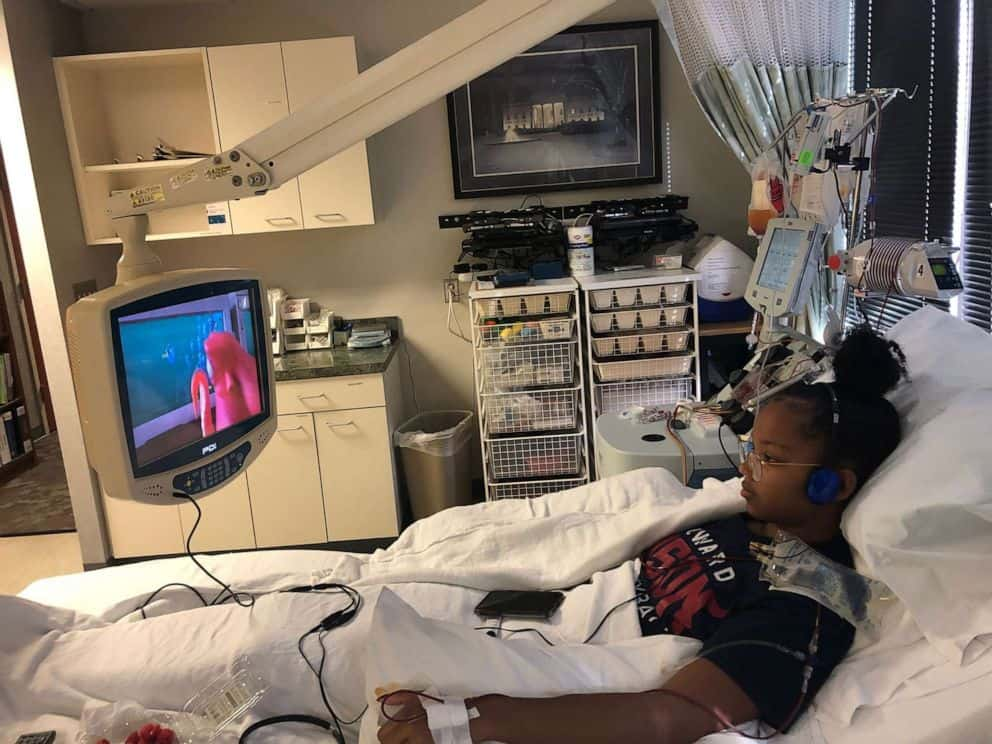 Howard university volleyball player donates stem cell.