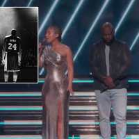 Grammy Awards honor Kobe Bryant and his daughter Gianna with emotional tribute