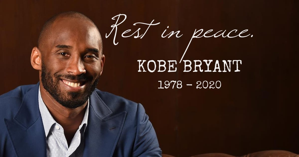 You were and will always be an inspiration… REST IN PEACE KOBE - my positive outlooks