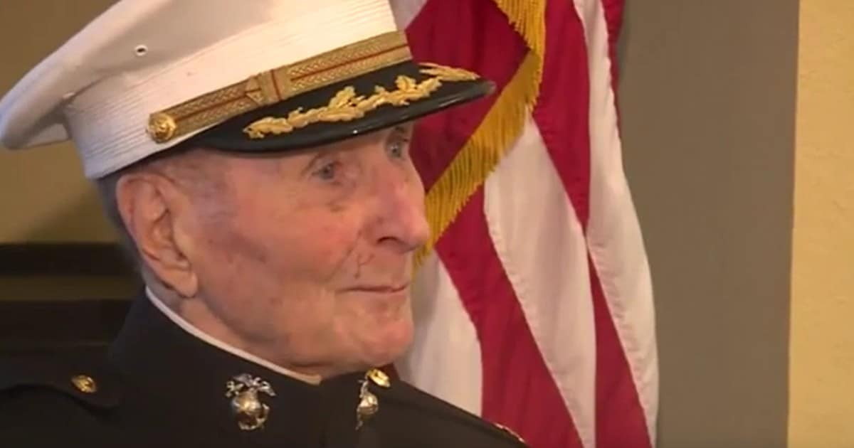 104-year-old Marine Corps veteran is asking for Valentine's Day cards from people near and far: 'I will save every one'