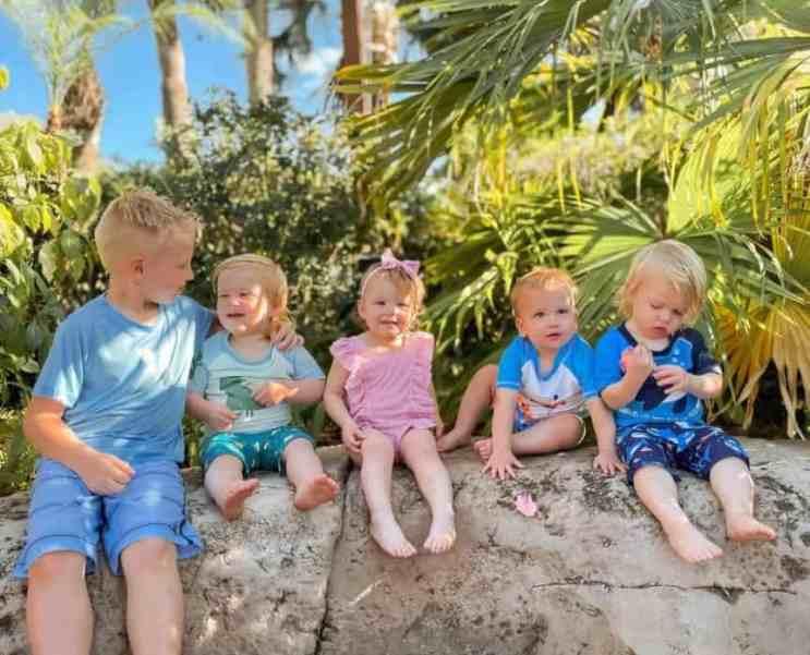 Photo update of the quadruplets.