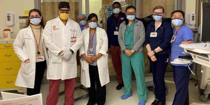 Staff at NewYork-Presbyterian Queens Hospital