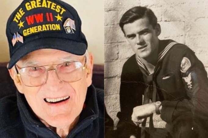 WWII veteran Bill Kelly