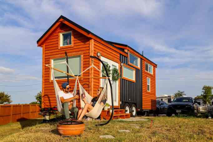 Couple took a house loan to build their dream tiny home.