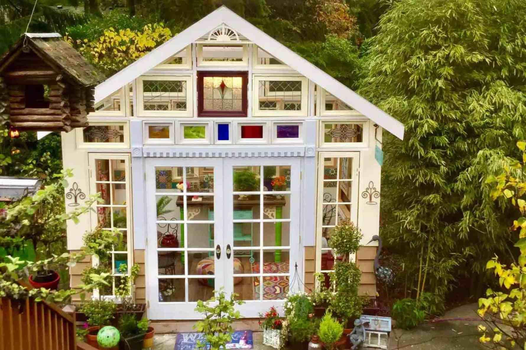 Estes dez aconchegantes 'ela derrama' o convencerão a construir um em seu quintal, veja as fotos 3