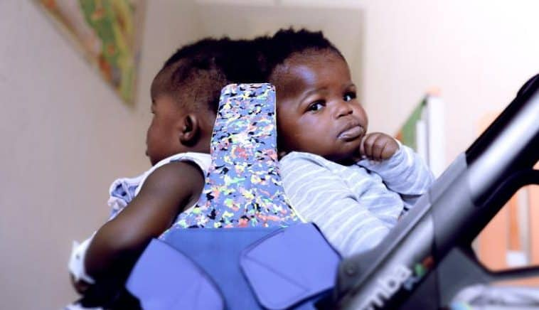 Waiting for their surgery at a pediatric hospital.