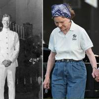 Longest-married presidential couple Jimmy and Rosalynn Carter celebrate historic 74th anniversary