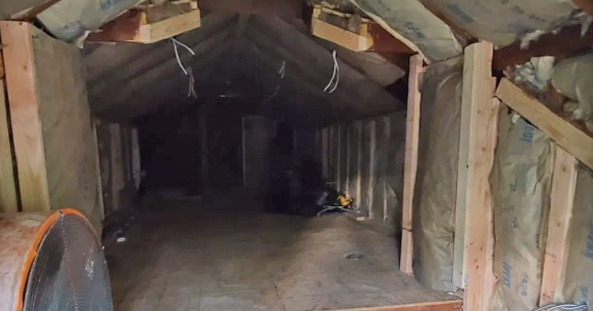 Man transforms unused attic into gorgeous walk-in closet for his wife - my positive outlooks