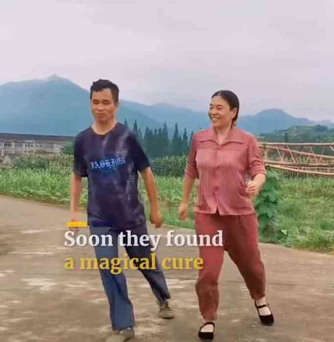 After car accident and suffering depression, man learns how to shuffle dance with wife's help