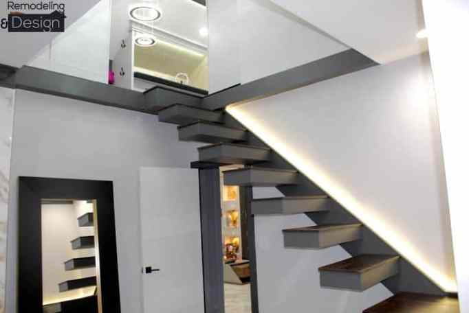 The new stair of the attic.