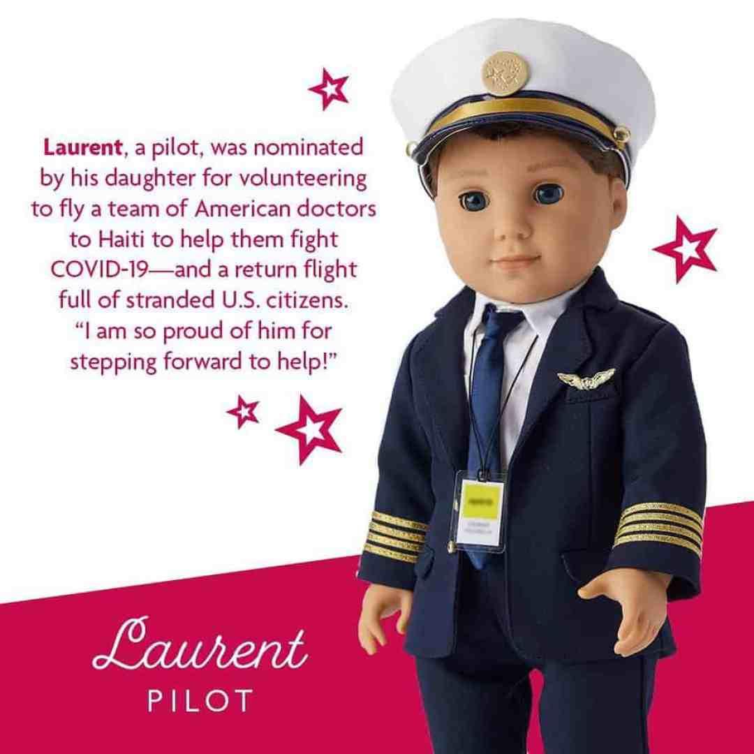 Laurent: American Girl dolls pandemic heroes