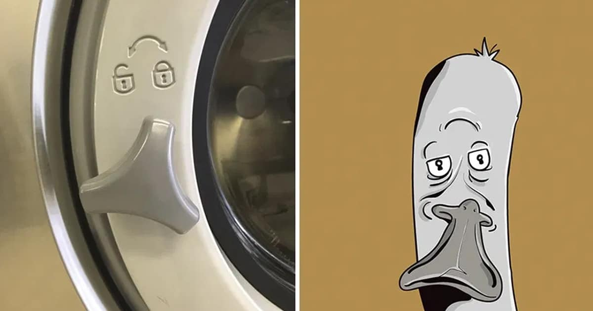 Artist sees faces in random objects and transforms them into adorable illustrated characters - my positive outlooks