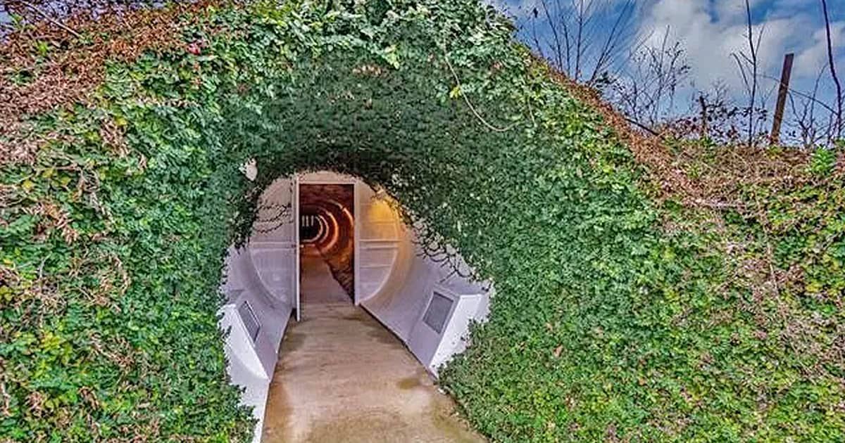 This is how a colorful 2-million dollar house that's also built underground looks like - my positive outlooks