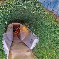 This is how a $2.25 million dollar house that's built underground looks like