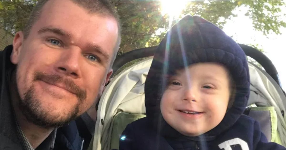 Mom wanted to give baby with Down syndrome to Foster care, so dad decides to raise his child all on his own - my positive outlooks