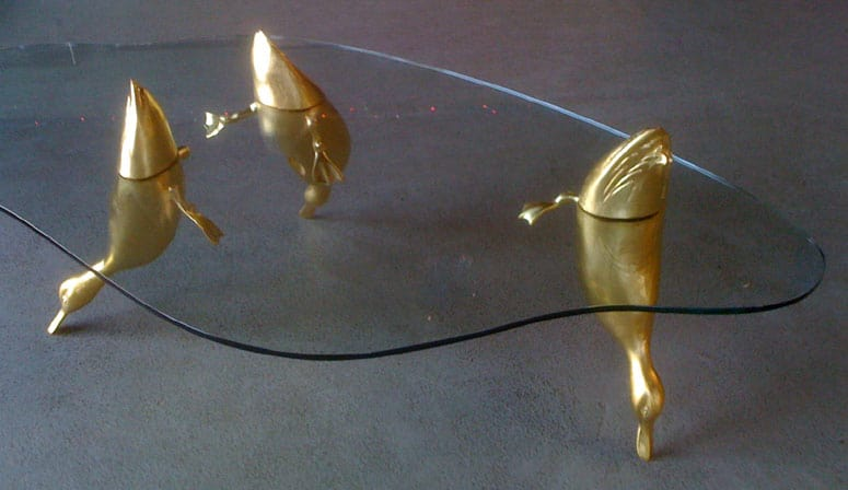 The Duck Pond Table by David Pearce