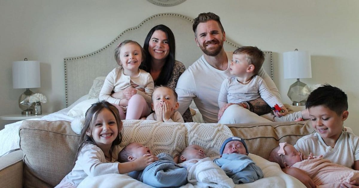 Pennsylvania couple welcomes quadruplets after adopting 4 siblings from foster care - my positive outlooks