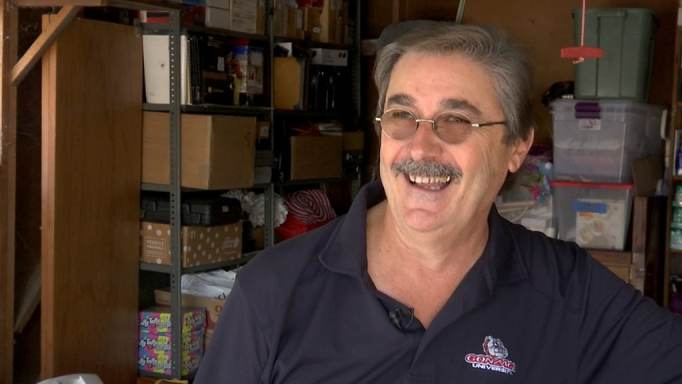 Kevin Ashford donated his entire baseball card collection to Reese Osterberg