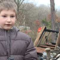 This 7-year-old boy went back into a burning home to save his baby sister