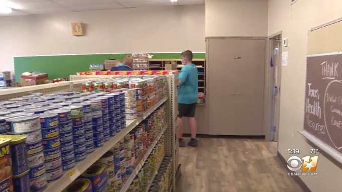 Linda Tutt High School grocery store