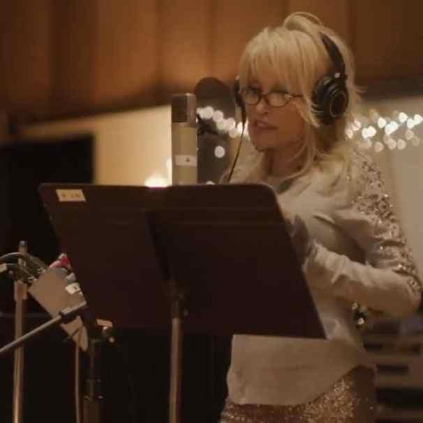 Dolly Parton recording Words