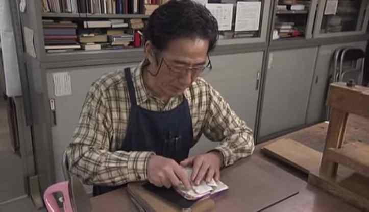 Nobuo Okano the skillful artisan.