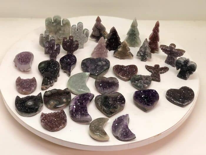 Geode products from Uruguay Minerals