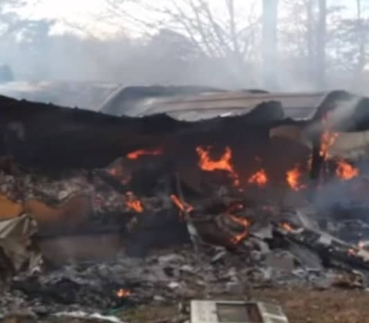 The house fire that almost killed an entire family.