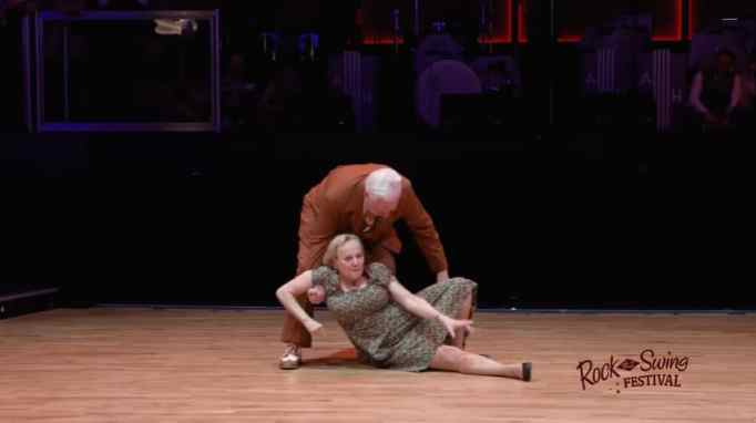 Nellia and Dietmar Ehrentraut in the Rock That Swing Festival 2020