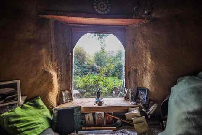 A massive open window