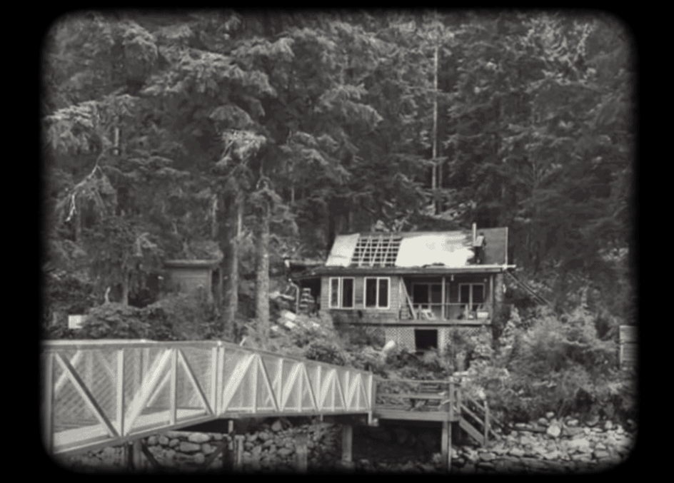 The old cabin before the renovation.