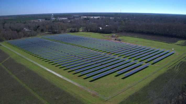 Солнечная ферма Джимми Картера в Джорджии