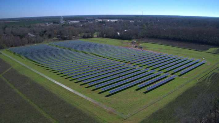 Jimmy Carter's solar farm in Georgia