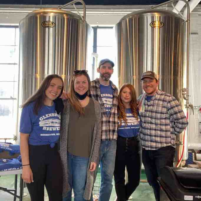 Employees at the Glenbrook Brewery
