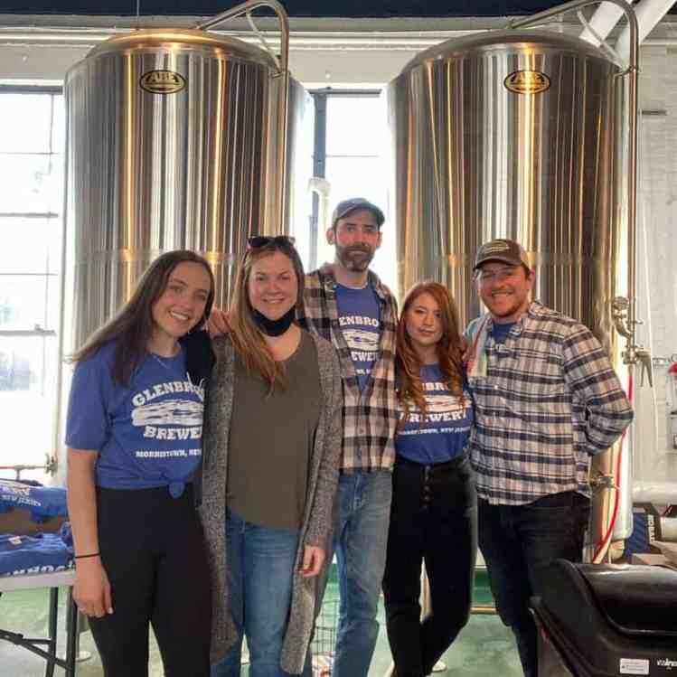 Сотрудники Glenbrook Brewery