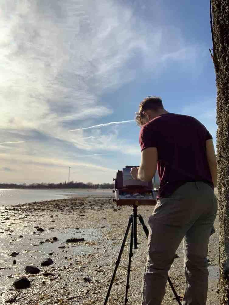 Джейк Гарсия картина на пляже