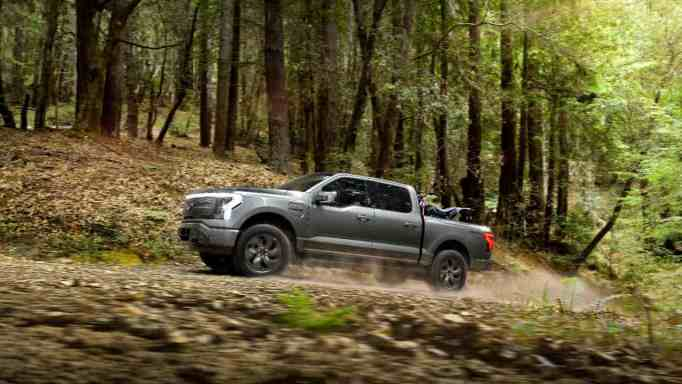 The highly anticipated F-150 Lightning is expected to be available by Spring 2022.