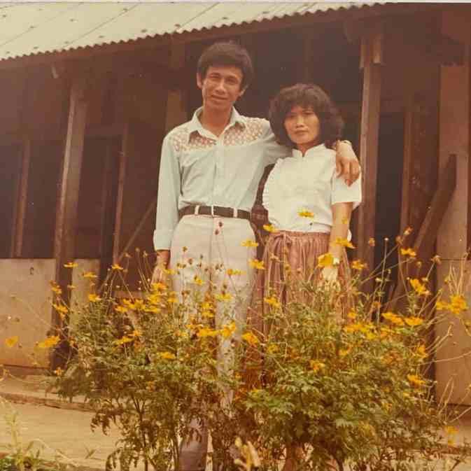 Writer's parents.