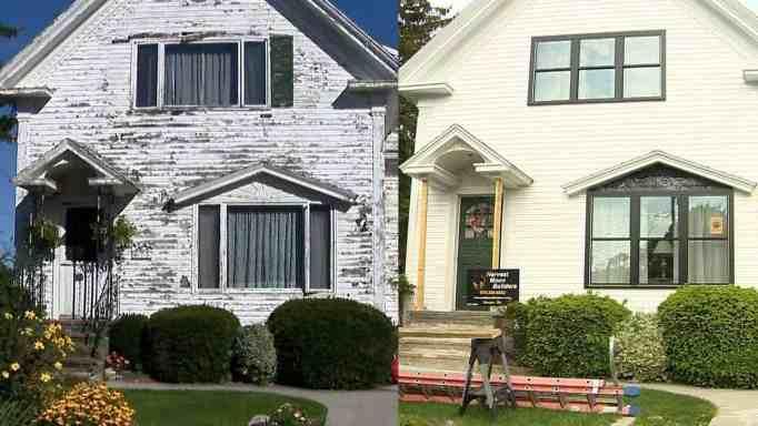 До и после ремонта дома в Глостере